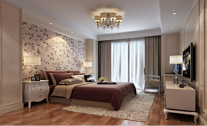 卧室图片来自交换空间刘杨成室内设计师在汇聚生活132平欧式设计的分享