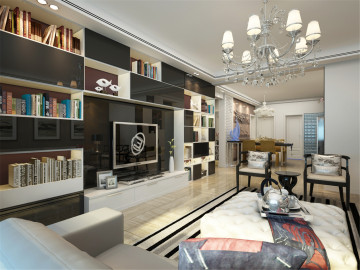 实创装饰147平米三居室新中式