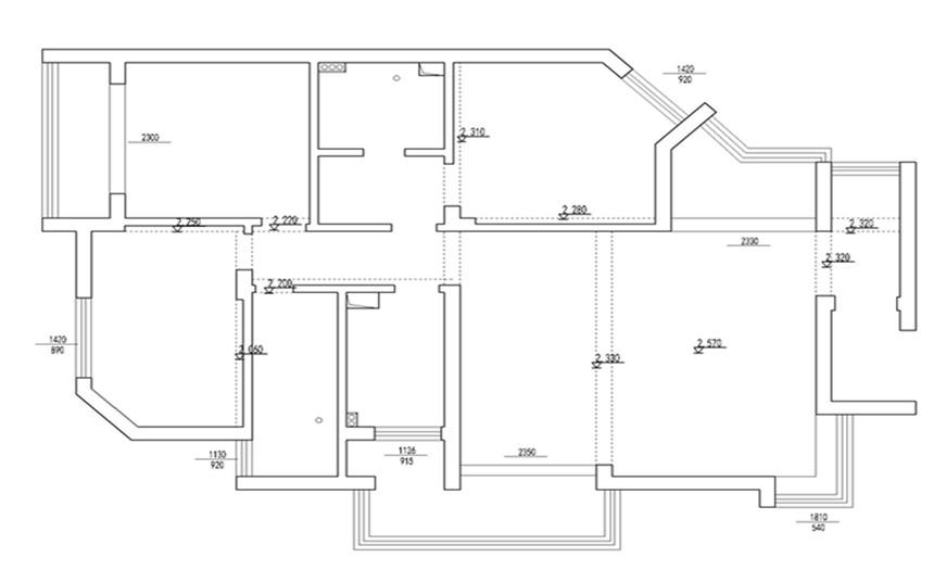 户型图图片来自交换空间刘杨成室内设计师在汇聚生活132平欧式设计的分享