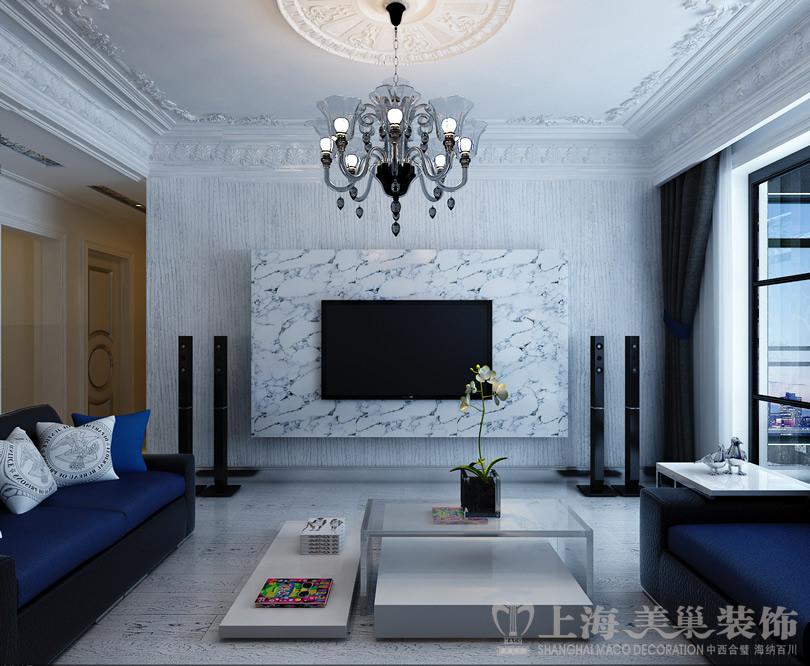 三居 混搭 小资 简约 客厅图片来自美巢装饰--李凌晨在中豪汇景湾法式简约装修效果图的分享