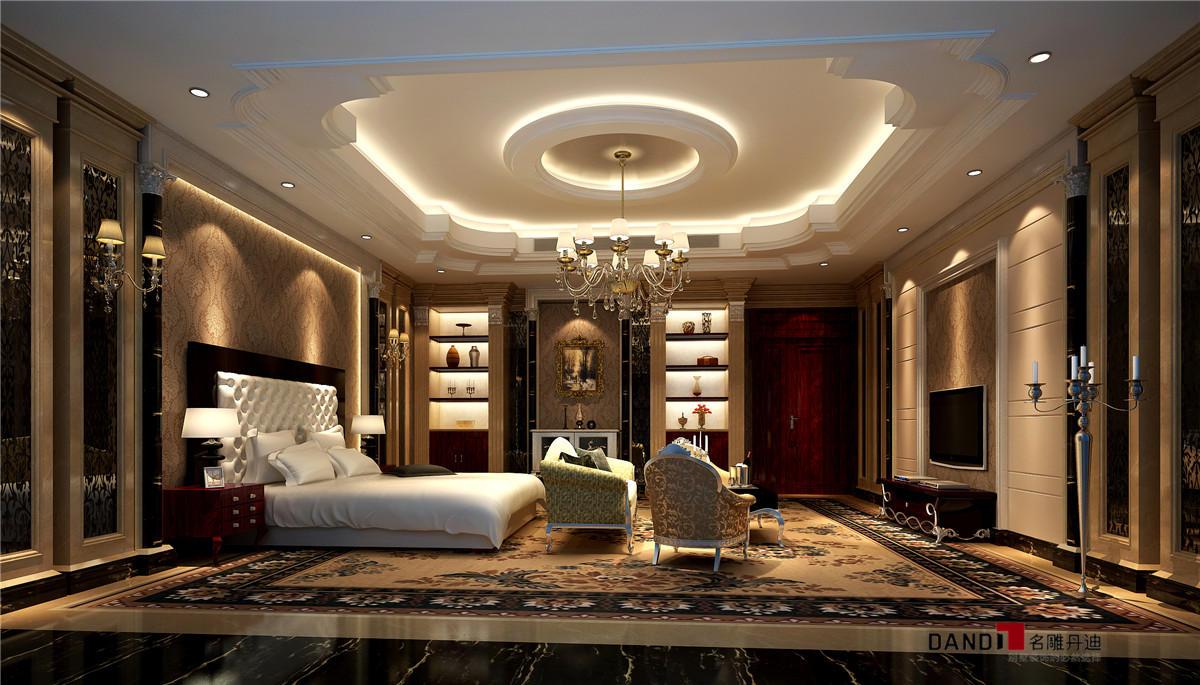 新古典 别墅 大方、新颖 简洁又奢华 卧室图片来自名雕丹迪在星河丹堤别墅的分享