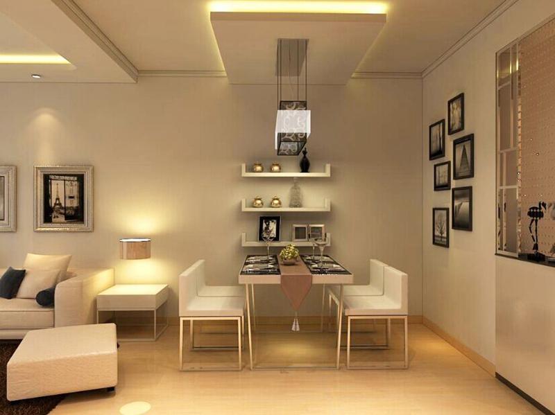 简约 二居 餐厅图片来自沈阳新饰家装饰在金地左岸88平米现代简约案例的分享