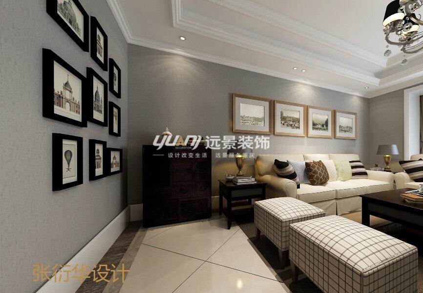 80后 客厅图片来自重庆远景装饰_张其斌在HARBOR HOUSE丨COOMO DAPO 风格的分享