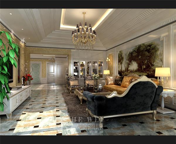 【客厅】欧式装修是最能彰显高贵气质了客厅到卧室,每一处都是那么光鲜照人,无一处不为之惊叹不已,多么高贵啊!
