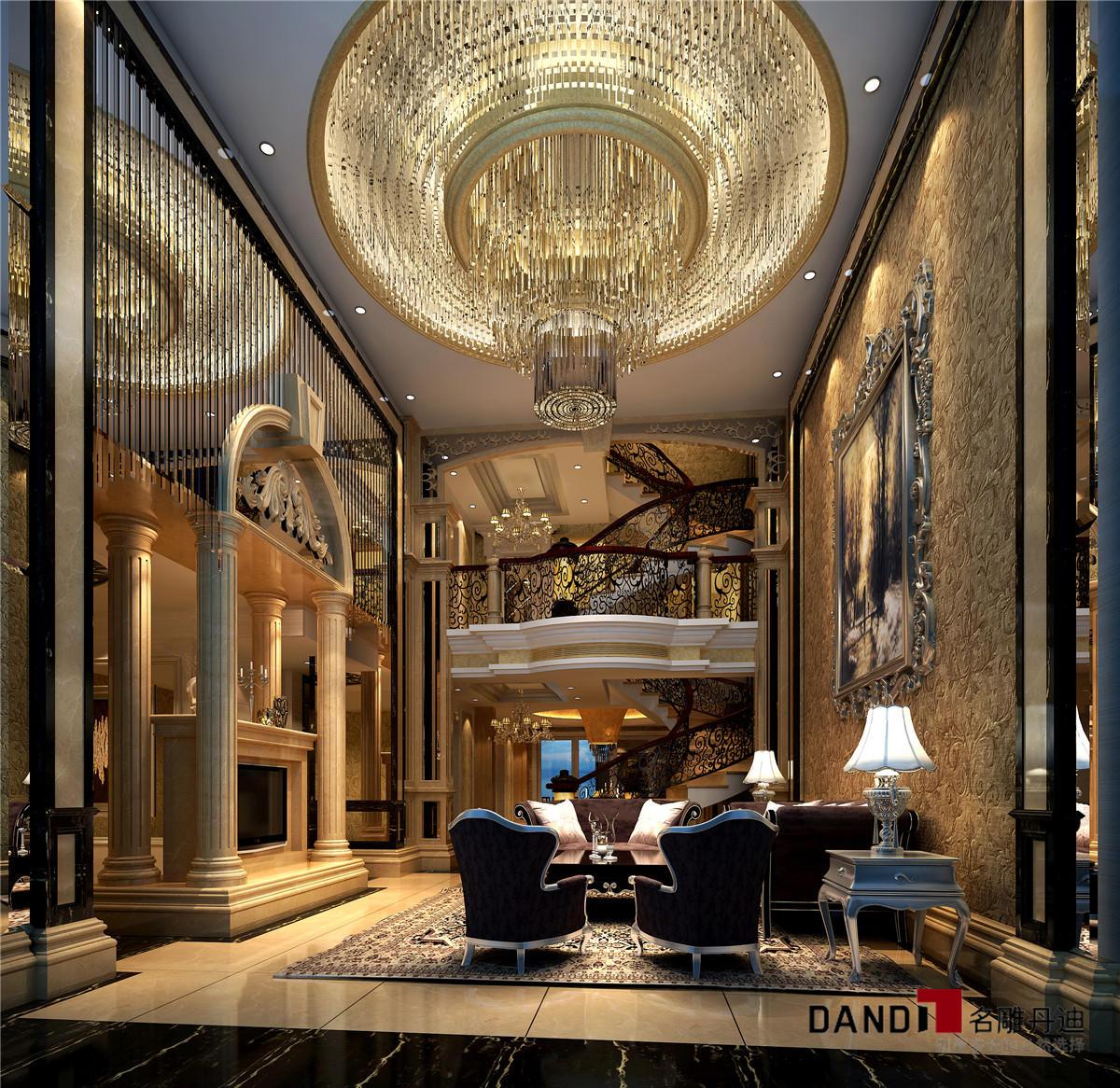 新古典 别墅 大方、新颖 简洁又奢华 客厅图片来自名雕丹迪在星河丹堤别墅的分享