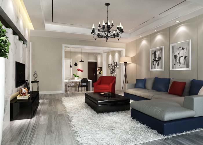 业之峰装饰 成都装修 仁和春天 现代风格 三居室 时尚 客厅图片来自zdxdcom在默认专辑的分享