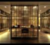 前厅设计颇具前瞻性、不拘一格的设计理念,迎合新贵一族的审美品位。