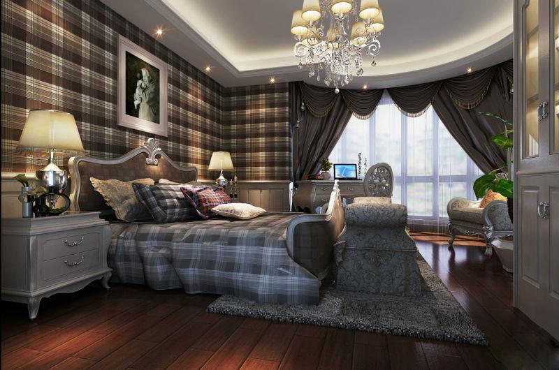 崇州自建房 420平米 现代欧式 别墅 卧室图片来自cdxblzs在崇州自建房 420平米 现代欧式的分享