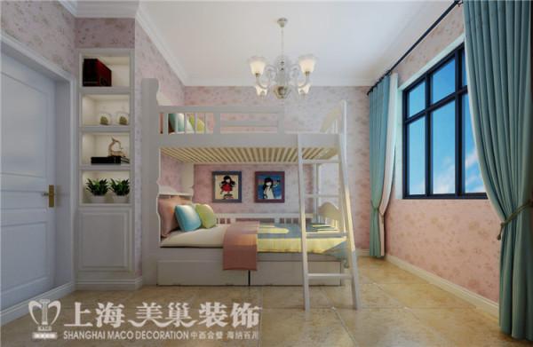 天骄华庭89平3室2厅简美风格装修样板间——儿童房装修效果图