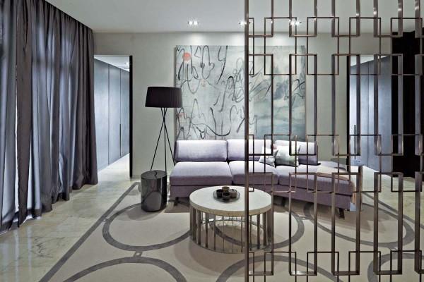 卧室外的休息室,加以落地窗飘窗设计,一份属于现代人的悠闲与安逸。