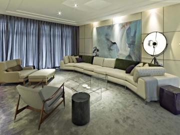 后现代风格三居室装修设计