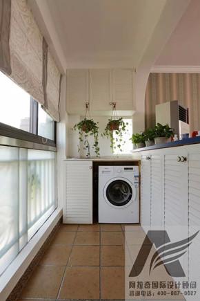 二居 地中海 家庭装修 装修设计 80后 小资 阳台图片来自阿拉奇设计在充满异域风情的地中海家庭装修的分享