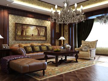 上海松江135平米古典欧式风格