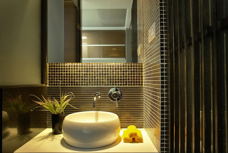 卫生间图片来自紫禁尚品设计师李擎在上林世家的分享