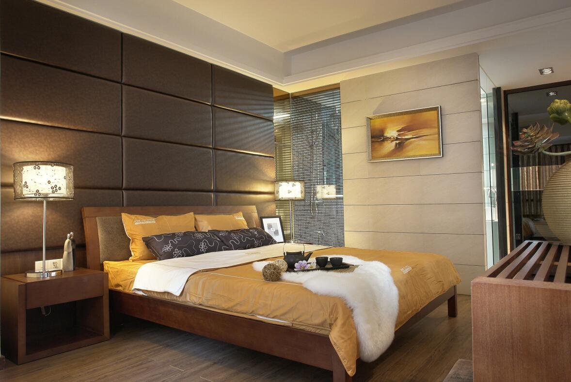卧室图片来自紫禁尚品设计师李擎在上林世家的分享