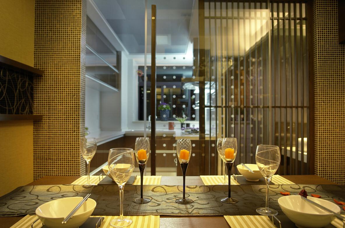 餐厅图片来自紫禁尚品设计师李擎在上林世家的分享