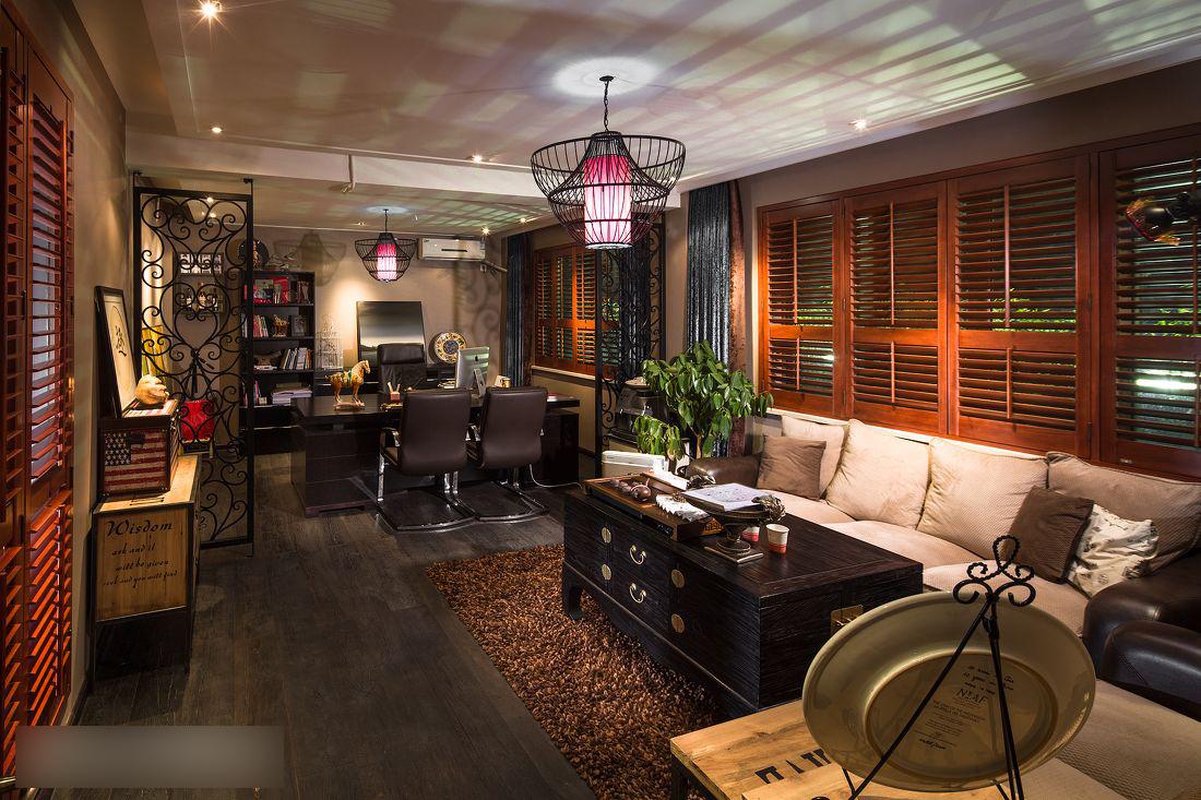 简约 欧式 田园 混搭 二居 三居 别墅 白领 旧房改造 书房图片来自安紫设计工作室在联盟新城古典混搭的分享
