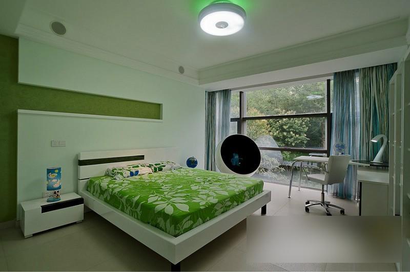 简约 欧式 田园 混搭 二居 三居 别墅 白领 旧房改造 卧室图片来自安紫设计工作室在14年现代简中别墅的分享