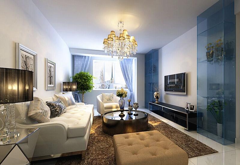 简约 二居 客厅图片来自沈阳新饰家装饰在【现代简约】保利溪湖林语82平米的分享