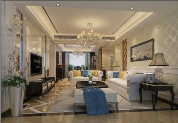 业主比较注重品质,喜欢现代实用的家居风格,希望拥有一套简洁,实用,优雅和谐舒适的温暖住宅