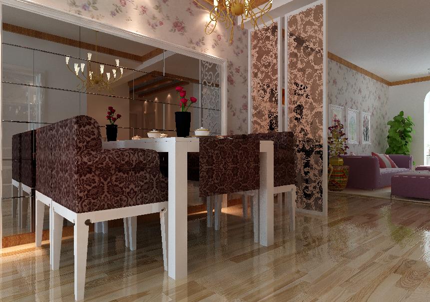 田园 百家装饰 三居 家居体验馆 装修公司 餐厅图片来自百家装饰小帅在中海城 116平田园风格的分享