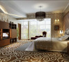 地毯的铺垫,显得卧室更加温馨舒适。