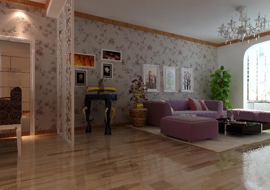 田园 百家装饰 三居 家居体验馆 装修公司 客厅图片来自百家装饰小帅在中海城 116平田园风格的分享