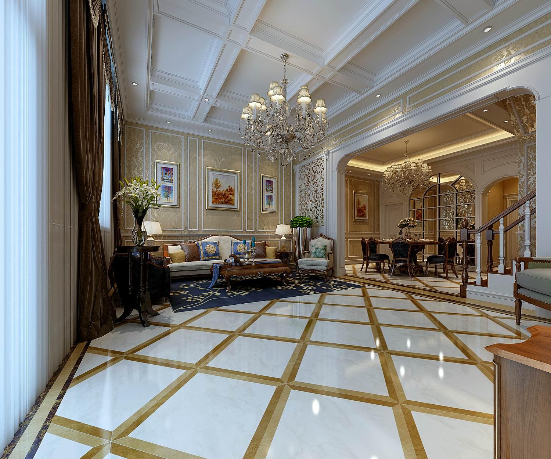 简约 欧式 田园 混搭 二居 三居 别墅 白领 旧房改造 客厅图片来自龙发专家设计师文敏红在21世纪湖左岸古典奢华风的分享