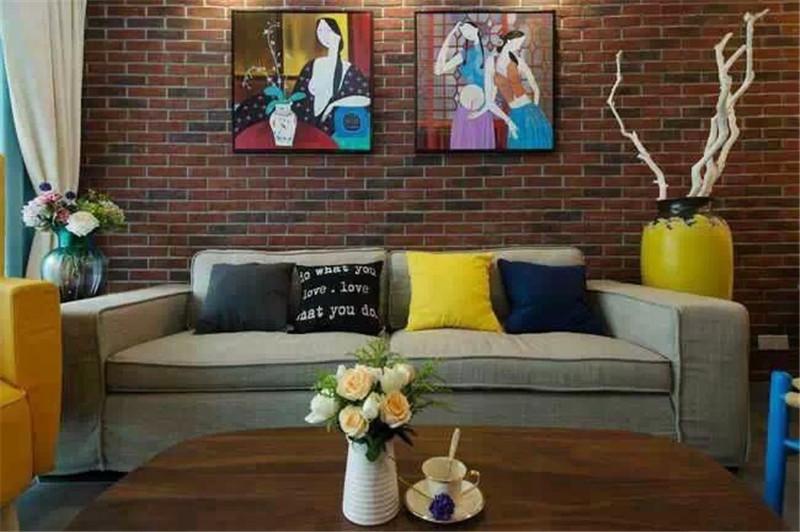客厅图片来自湖南名匠装饰在凤凰城混搭风格的分享