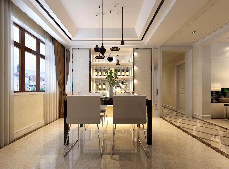 简约 欧式 田园 混搭 二居 三居 别墅 白领 旧房改造 餐厅图片来自龙发专家设计师文敏红在东方国际时尚简约风的分享