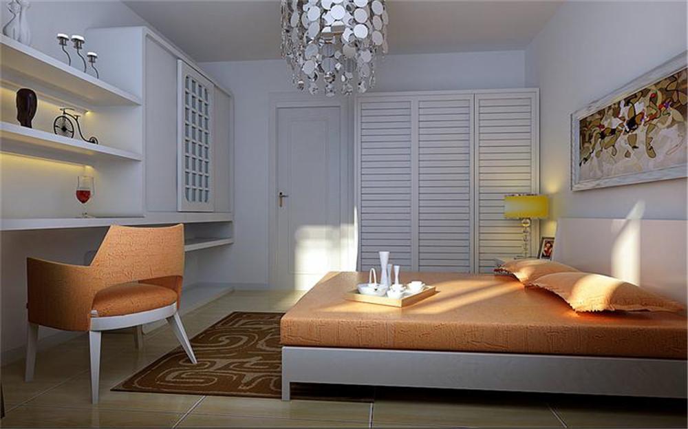 简约 欧式 田园 混搭 二居 三居 别墅 旧房改造 收纳 卧室图片来自天津生活家装饰在实创装饰-和瑞园一居简约的分享