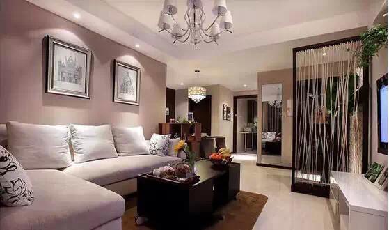 简约 现代 二居 三居 白领 收纳 80后 小资 旧房改造 客厅图片来自高度国际装饰宋增会在80平简约婚房 看完绝对难以置信的分享