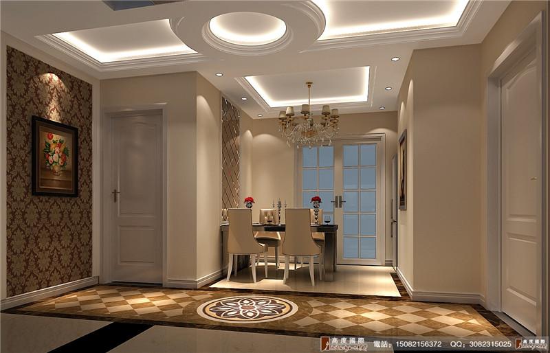 高度国际 别墅装修 餐厅图片来自成都高端别墅装修瑞瑞在简欧风格----成都高度国际装饰的分享