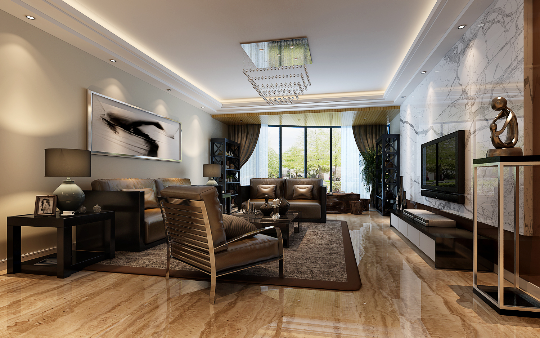 简约 欧式 田园 混搭 二居 三居 别墅 白领 旧房改造 客厅图片来自龙发专家设计师文敏红在天裕小区极简风的分享