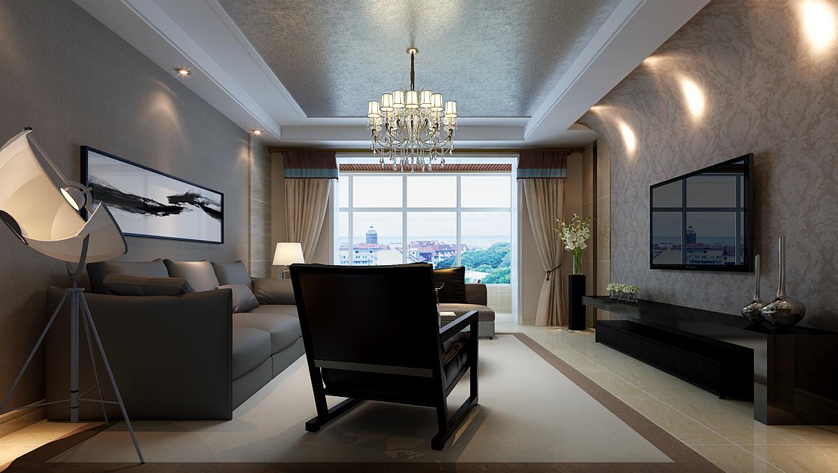 四居 东山彩橘 现代风格 客厅图片来自乐豪斯装饰张洪博在东山彩橘的分享