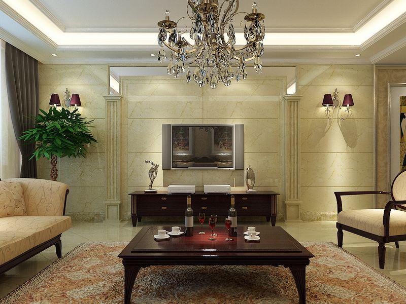 典雅 都市 时尚 高贵 三居 别墅 白领 简约 旧房改造 客厅图片来自龙发装饰--梁宇在欧式-东方鼎盛时代的分享
