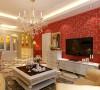 客厅简洁线条造型为主基调,不要过多累赘复杂的造型,体现了主人的想要的简洁而不简单的会客休息空间。电视茶几造型是典型欧式的家具,轻松简约。