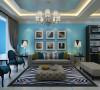 蓝砖120平方新式地中海