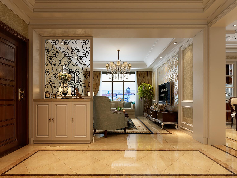 简约 欧式 田园 混搭 二居 三居 别墅 白领 旧房改造 客厅图片来自龙发专家设计师文敏红在林业厅家属院轻奢法式风的分享