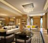 本案是新传统与现代居室风格的结合,设计师以新简约装饰手法打造舒适与自然的雅致空间,结合少量传统中式的装饰元素,来呈现亦古亦今的空间氛围。