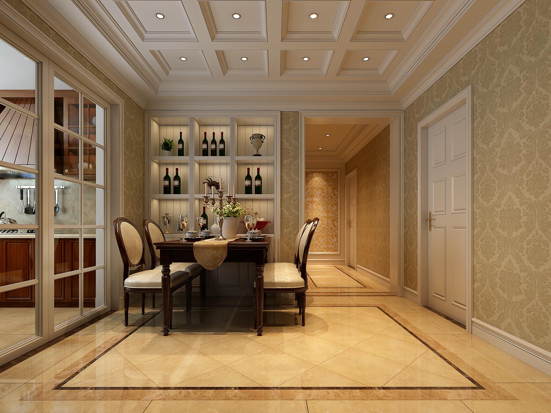 简约 欧式 田园 混搭 二居 三居 别墅 白领 旧房改造 餐厅图片来自龙发专家设计师文敏红在林业厅家属院轻奢法式风的分享