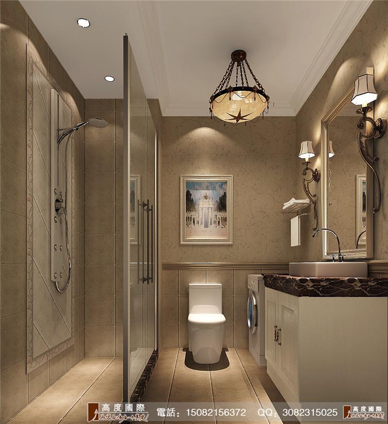 高度国际 别墅装修 成都装修 卫生间图片来自成都高端别墅装修瑞瑞在简约美式----成都高度国际装饰的分享