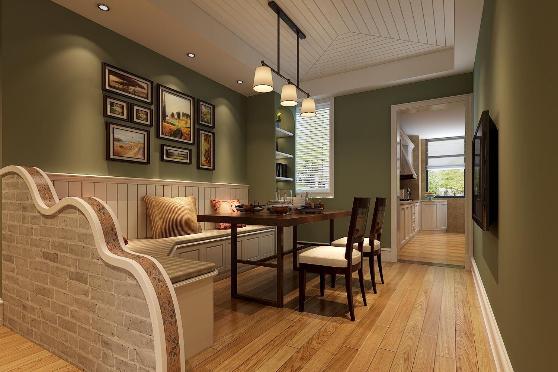 简约 欧式 田园 混搭 二居 三居 别墅 白领 旧房改造 餐厅图片来自龙发专家设计师文敏红在御鑫城美式风的分享