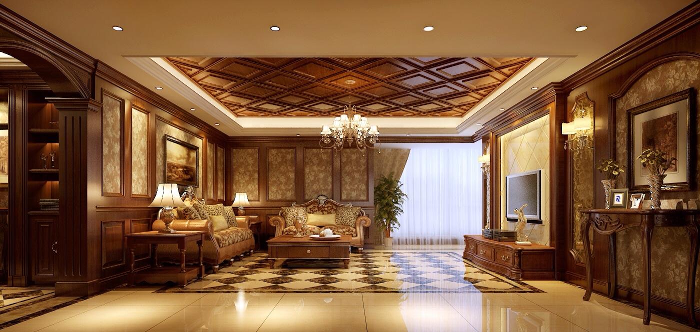 简约 欧式 田园 混搭 二居 三居 别墅 白领 旧房改造 客厅图片来自龙发装饰--梁宇在银基王朝的分享