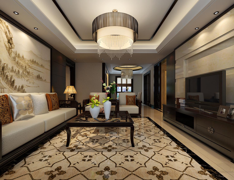 简约 欧式 田园 混搭 二居 三居 别墅 白领 旧房改造 客厅图片来自龙发专家设计师文敏红在蓝宝湾的分享