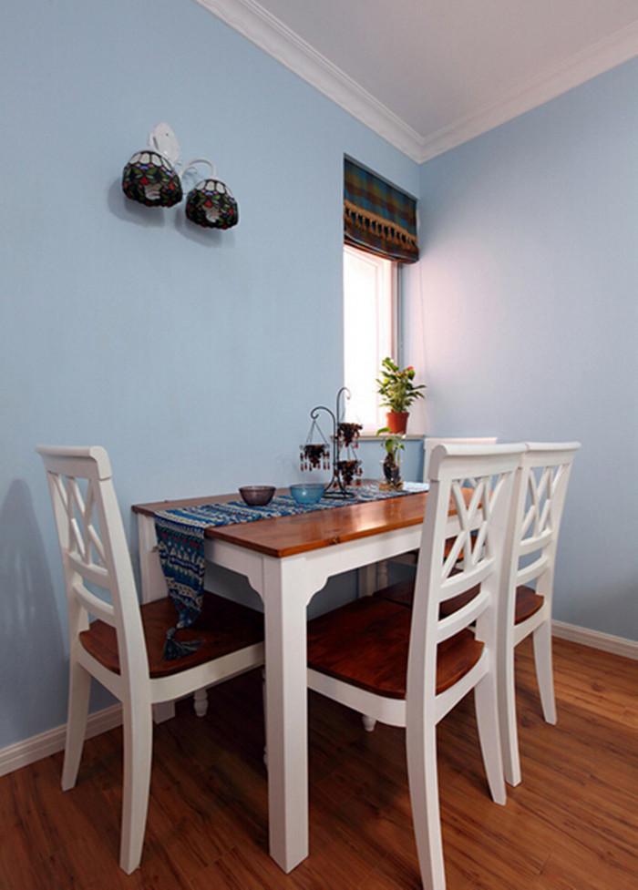 餐厅图片来自159xxxx8729在小户型巧隔断60平浪漫地中海的分享