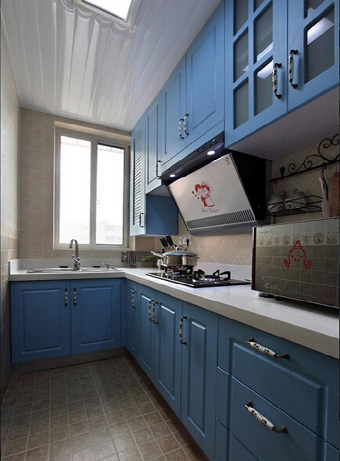 厨房图片来自159xxxx8729在小户型巧隔断60平浪漫地中海的分享