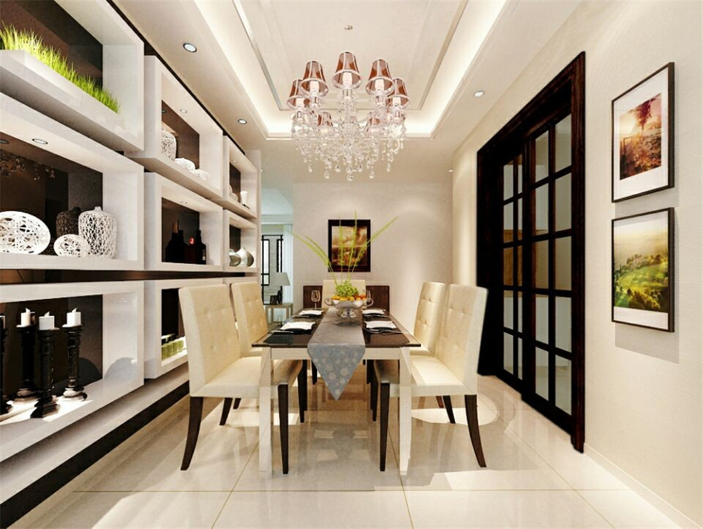 简约 田园 混搭 三居 别墅 白领 旧房改造 80后 小资 餐厅图片来自广州实创装饰公司李小姐在岭南雅筑的分享