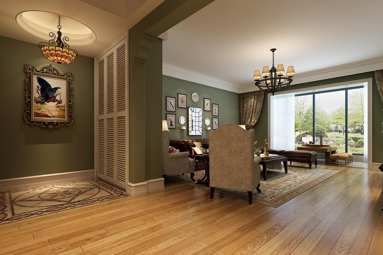 简约 欧式 田园 混搭 二居 三居 别墅 白领 旧房改造 客厅图片来自龙发专家设计师文敏红在御鑫城美式风的分享
