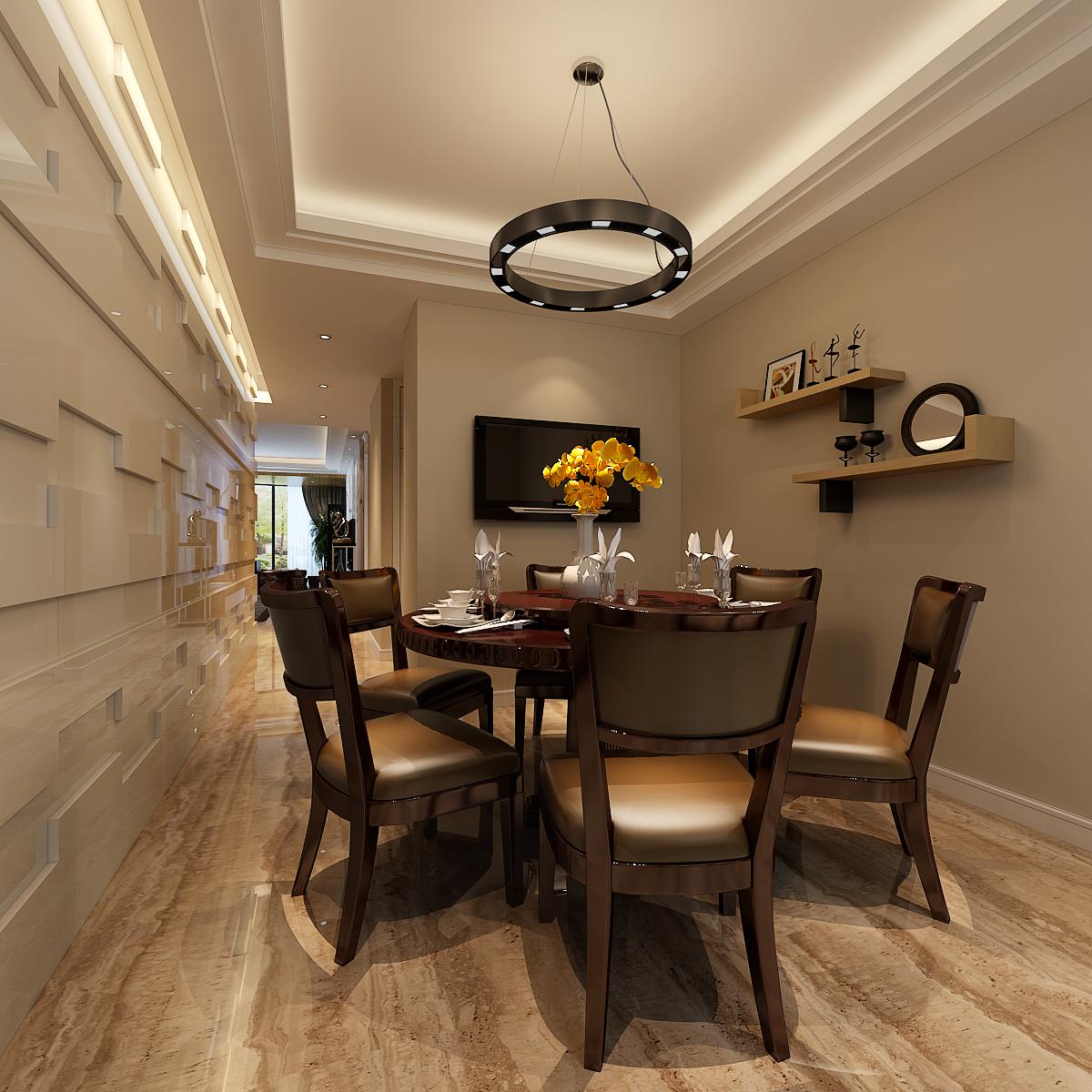 简约 欧式 田园 混搭 二居 三居 别墅 白领 旧房改造 餐厅图片来自龙发专家设计师文敏红在天裕小区极简风的分享
